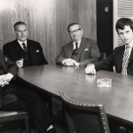 1972 Directors (from left to right) Brandon Hayward, Roy Hayward, Angus Andrews & David Barrows
