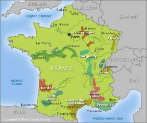 french wine regions picture