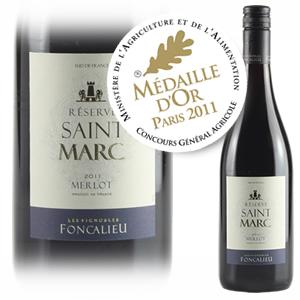 saint marc merlot gold medal